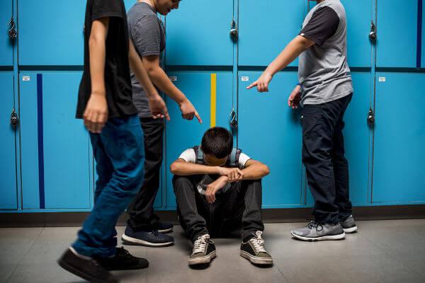 O bullying não deve ser tolerado.
