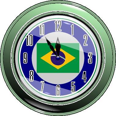 O horário no Brasil altera-se em quatro zonas diferentes