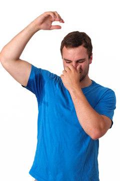 Algumas vezes a bromidrose relacionam-se com a transpiração excessiva