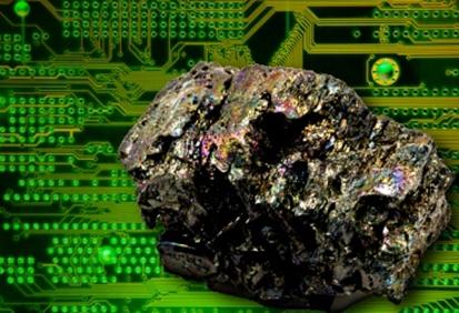 O elemento silício é um sólido muito importante em diversas áreas, como na produção da maior parte dos circuitos e chips eletrônicos