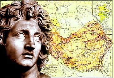 Alexandre: Um conquistador influenciado por valores orientais e gregos.