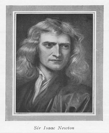 Isaac Newton propôs o modelo corpuscular da luz
