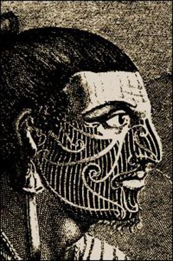 O ato de tatuar a pele apareceu, inicialmente, entre tribos de povos de cultura primitiva da Polinésia *