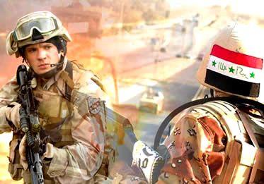 """Guerra do Iraque: um conflito injustificado contra um dos integrantes do """"eixo do mal""""."""