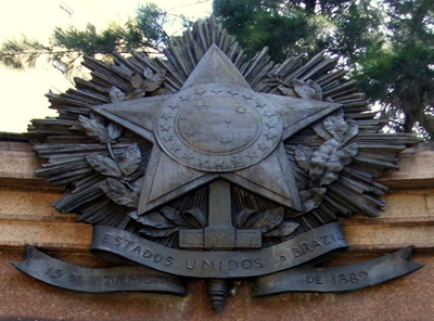 Brasão de Armas da República do Brasil.*