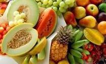 Alguns alimentos que contêm sais minerais.