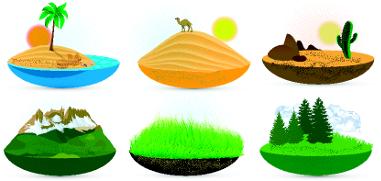 A criação de maquetes para ilustrar os diferentes biomas pode ser uma metodologia eficaz para a fixação do conteúdo