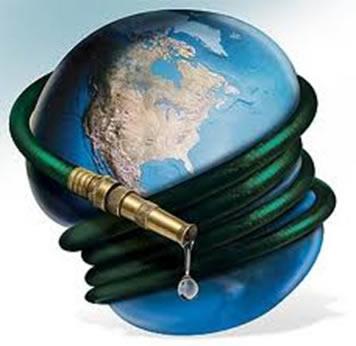 O Brasil concentra em torno de 12% da água doce do mundo disponível em rios