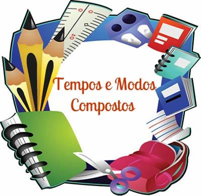A formação dos tempos e modos compostos se dá por meio de um verbo principal e um auxiliar