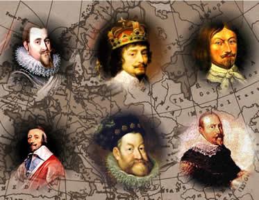 Guerra dos Trinta Anos: o conflito que mobilizou várias das monarquias européias.