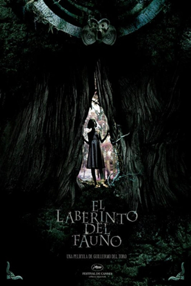 "Cartaz do filme ""O Labirinto do Fauno"", do diretor Guillermo del Toro *"