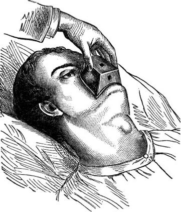 O clorofórmio não é mais usado como anestésico porque ele pode causar parada respiratória e danos irreparáveis ao fígado