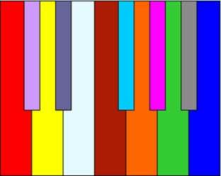 Pessoas sinestésicas podem associar as notas musicais a cores