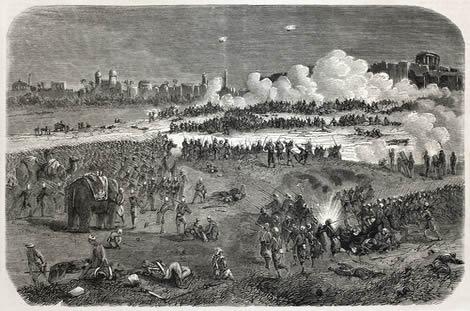Guerra dos Cipaios foi uma luta contra o imperialismo inglês