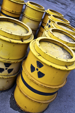 O lixo nuclear não pode ser tratado como lixo comum