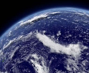 A maior parte da superfície terrestre é formada por oceanos