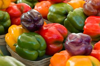 Existem várias variedades de pimentão