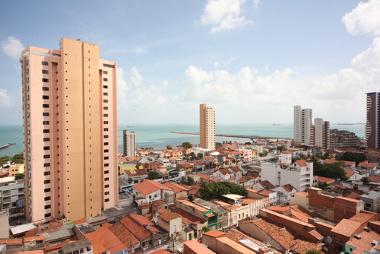 Área urbana de Fortaleza (CE), uma das metrópoles brasileiras