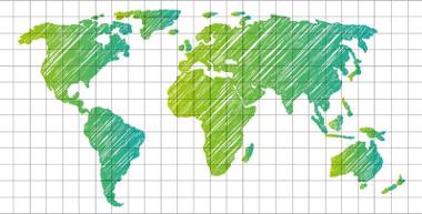 As coordenadas geográficas são importantes elementos de localização