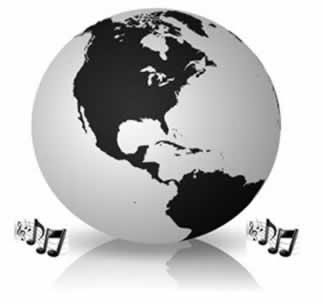 A música é uma poderosa ferramenta metodológica para se ensinar o conteúdo de Globalização