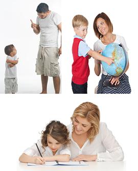 Toda atuação familiar é educativa, tanto no que se refere à educação formal quanto à não formal