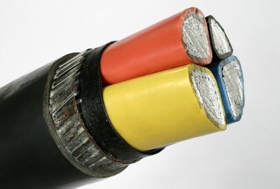 Os fios que conduzem eletricidade são feitos de metal, pois este apresenta grande condutividade elétrica