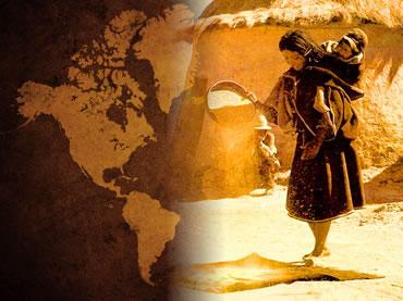 A colonização hispânica deixou suas marcas entre os povos do continente americano.