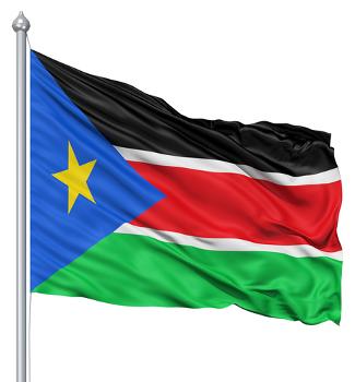 Bandeira do Sudão do Sul, o mais novo país