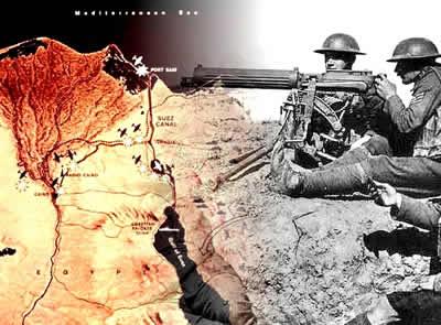O conflito em Suez combinou interesses econômicos junto às rivalidades da Guerra Fria.