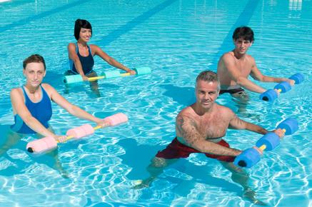 Hidroginástica - Atividade corporal contínua em ambiente aquático