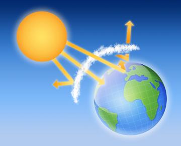A camada de ozônio atua protegendo a Terra dos raios ultravioleta