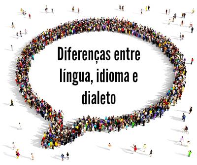 A Sociolinguística, ramo da Linguística que estuda as relações entre língua e fala, analisa as diferenças entre língua, idioma e dialeto