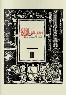 Revista Quadrinhos de História, de Scabini e Bernard