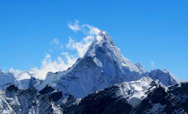 O Monte Everest é uma evidência da ação das Placas Tectônicas sobre o relevo