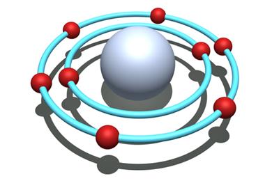 O átomo de oxigênio possui seis elétrons na sua camada de valência, que são representados por seis pontos na fórmula eletrônica de Lewis