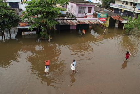 As enchentes são uns dos problemas ambientais dos centros urbanos*