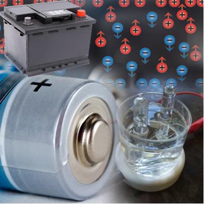 O estudo da eletroquímica envolve processos com transferência de elétrons, tais como pilhas, baterias e eletrólises