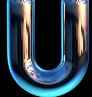O tubo em U é a principal vidraria usada neste experimento
