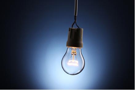 A luz de uma lâmpada incandescente não é polarizada, porque ela se propaga em todas as direções
