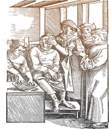 As doenças eram comuns na Inglaterra pela falta de higiene da população
