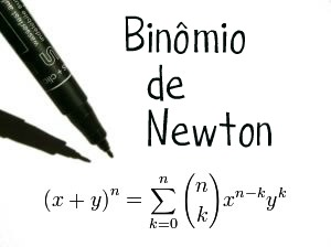 Esta é a forma como se escreve o teorema do Binómio de Newton.
