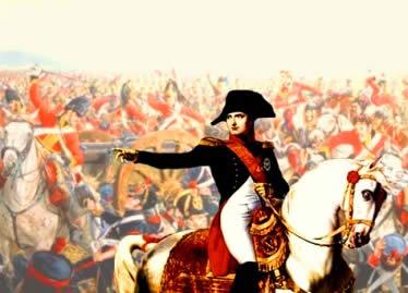 Napoleão, o líder militar que consolidou os avanços da Revolução Francesa.