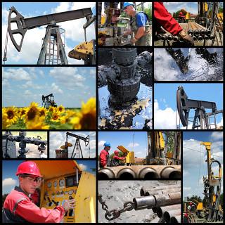 Exploração e produção de petróleo e gás natural, dois combustíveis fósseis