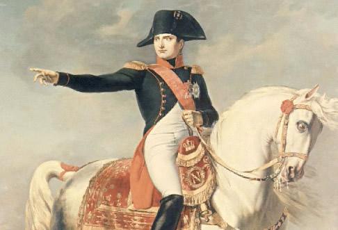 Napoleão Bonaparte um grande general e estadista.
