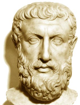 O filósofo Parmênides elaborou uma complexa definição do Ser e, por isso, é considerado o pai da ontologia (teoria do ser) ocidental