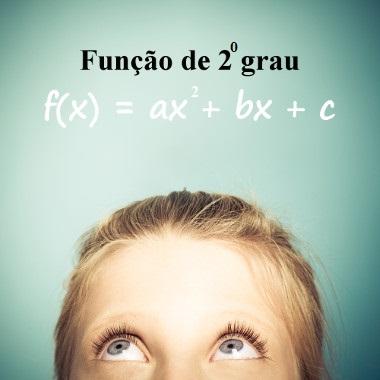 A função de segundo grau é representada pela lei de formação: f(x) = ax<sup>2</sup> + bx + c