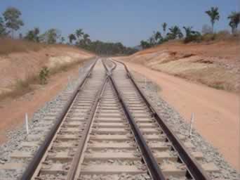 Construção da Ferrovia Norte-Sul