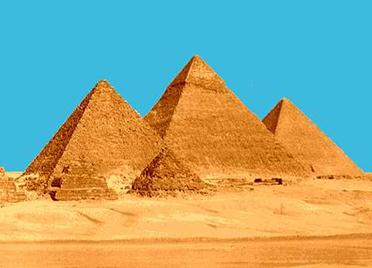 Os egípcios usaram a técnica do trabalho de uma força para construir as pirâmides
