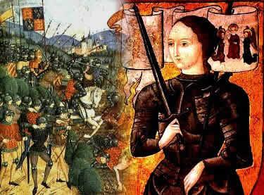 Por meio das vitórias militares iniciadas por Joana D'Arc, os franceses conseguiram vencer a Guerra dos Cem Anos.