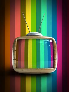 A televisão foi criada no século XX e se tornou o principal meio de comunicação da sociedade